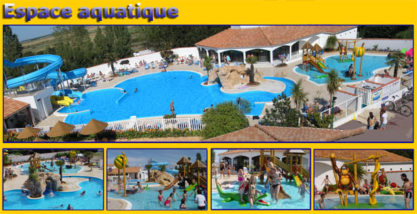 Camping la tranche sur mer vendee le sable d 39 or location for Piscine jonquilles