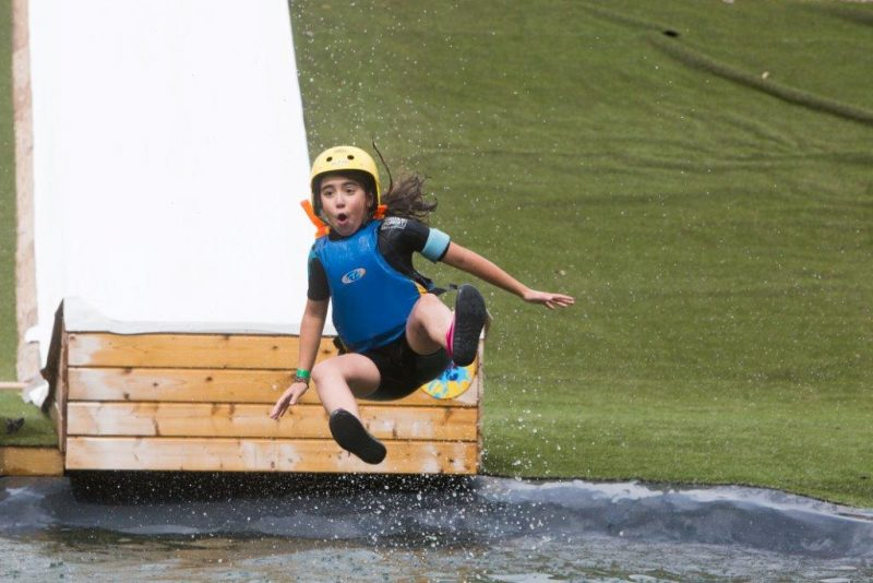 Water jum camping proche d'indian forest