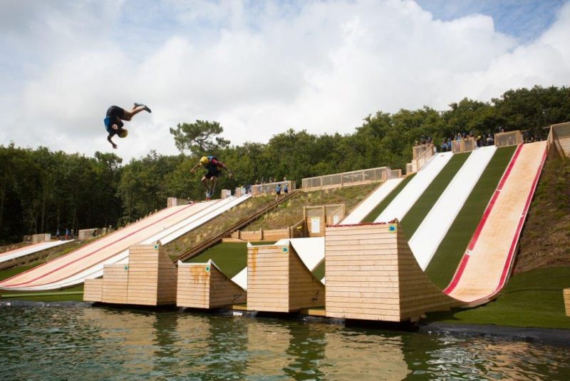 water jump camping proche d'indian forest