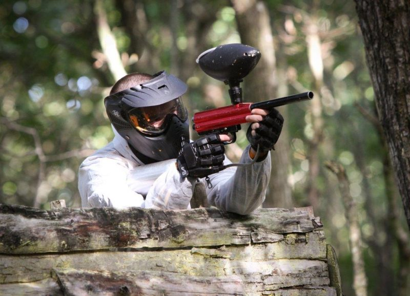 paint ball camping proche d'indian forest